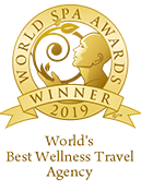 Worlds Best Wellness Travel Agency Nominee 2019