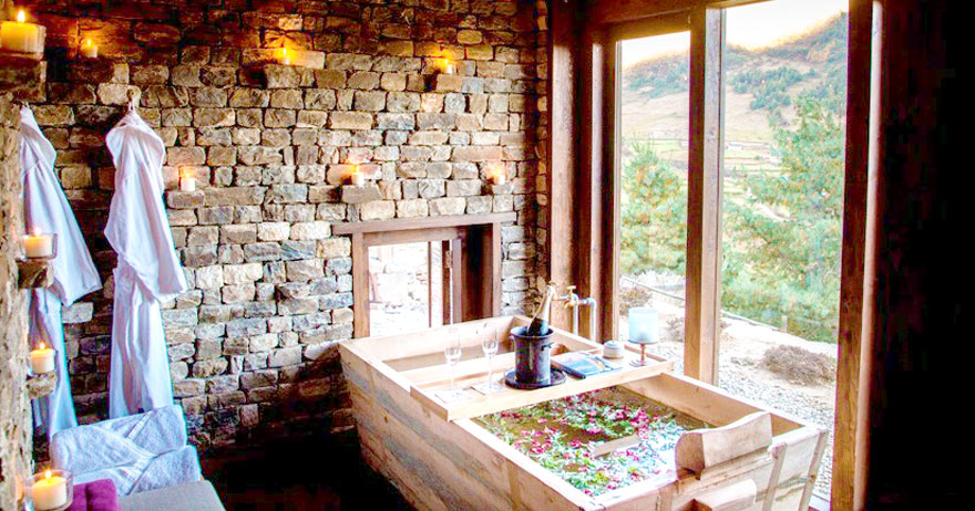 Treat Yourself at a Bhutanese Spa