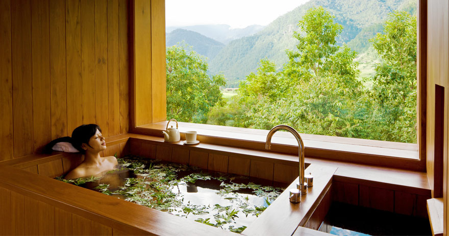 Bhutanese Traditional Hot Stone Baths