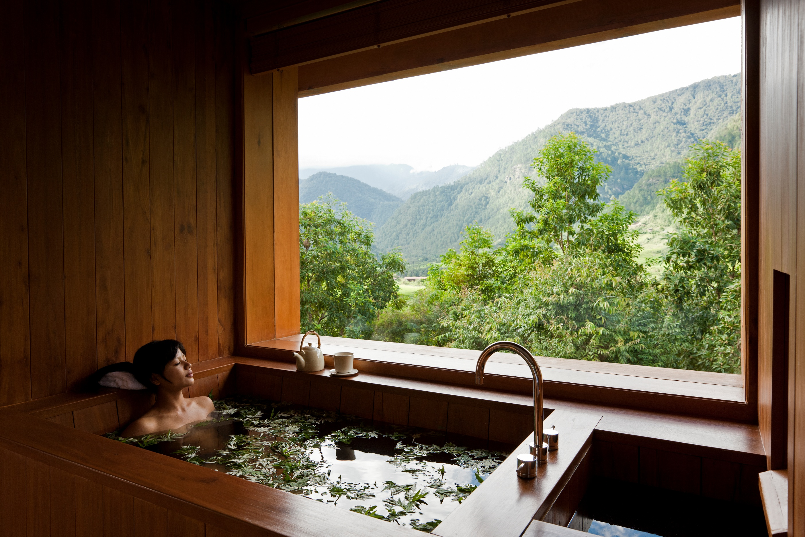 Bhutanese Hot Stone Bath