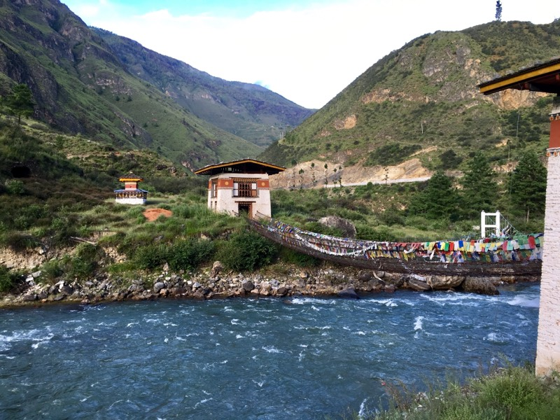 Iron Chain Bridge and Tachog Lhakhang Dzong