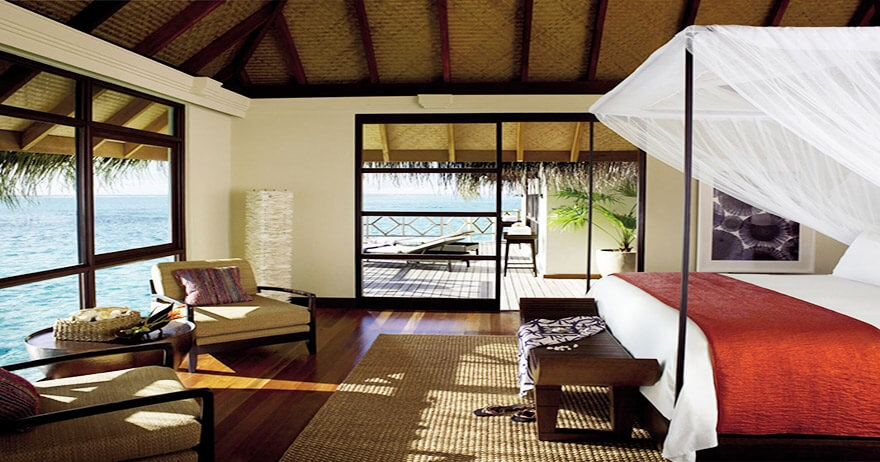 Two-Bedroom Water Suite with pool