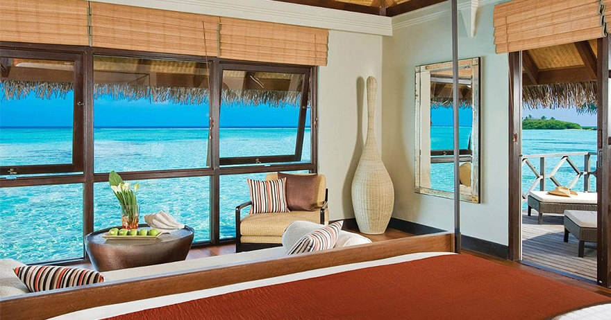 Sunrise Water bungalows with Pool