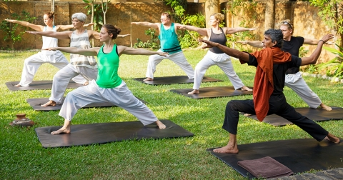YOGA AT JETWING AYURVEDA PAVILLION