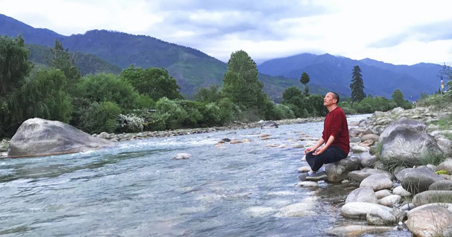 Spiritual Awakening Journey to Bhutan, the Land of Inifinite Blessings!-DAY 02  -  Yoga with Panoramic View of Bhutan