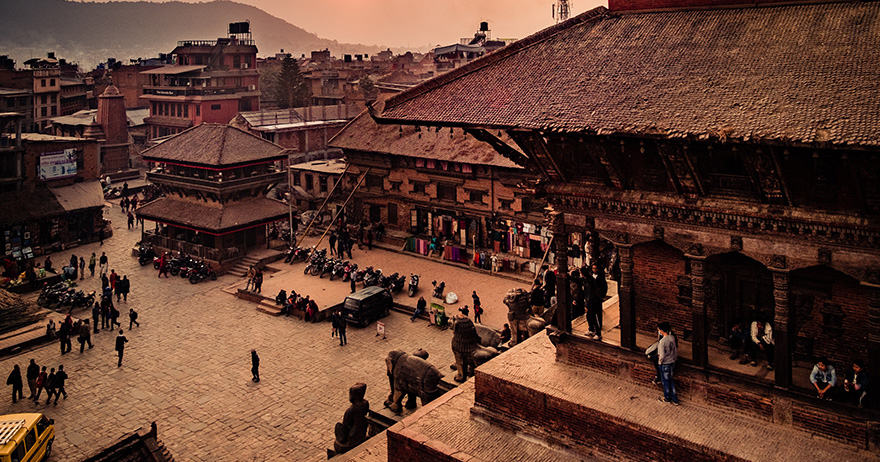 Buddhist Tour In India and Nepal -Day 08 : Fly to Kathmandu