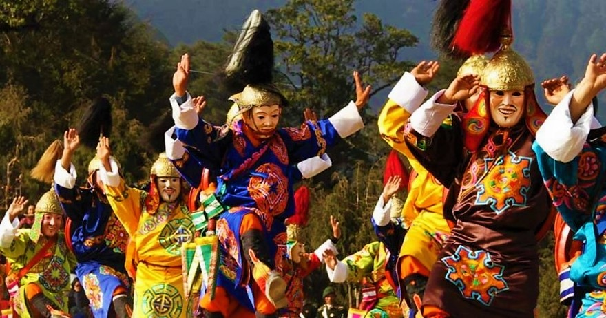 Bhutan Group Tour Dochula Festival - 11th to 17th December